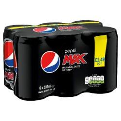 Pepsi Max 6 x 330ml