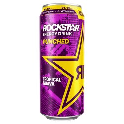 Rockstar Punched Tropical Guava 500ml Can, PMP £1.19