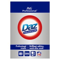 Daz Professional Powder Detergent Regular 7kg 110 Washes