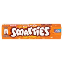 Smarties Limited Edition Orange Chocolate Sweets Hexatube 38g