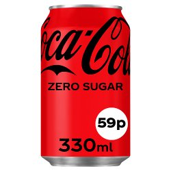 Coca-Cola Zero Sugar 330ml PMP 59p