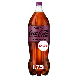 Coca-Cola Zero Sugar Cherry 1.75L PM £1.75