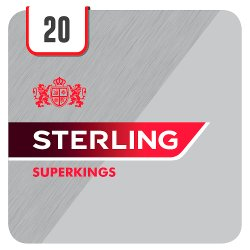 Sterling Superkings 20 Cigarettes Track & Trace Compliant