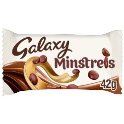Galaxy Minstrels Chocolate Bag 42g