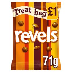 Revels Chocolate £1 PMP Treat Bag 71g