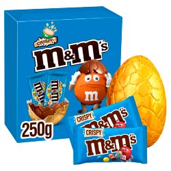 M&M's Crispy Chocolate Large Easter Egg 250g