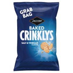 Jacob's Crinklys Salt & Vinegar Flavour 50g