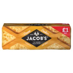 Jacob's Cream Crackers Original and Best 200g