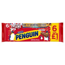 McVitie's Penguin 6 Pack
