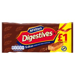 Choc Digestive Slices GBP1.00