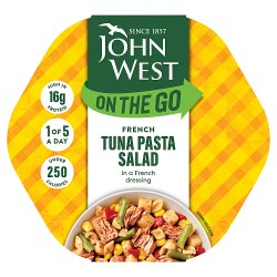 John West Lunch on the Go French Style Tuna Salad 220g