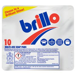 Brillo Multi-Use Soap Pads 10 per pack