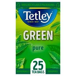 Tetley Green Pure 25 Compostable Tea Bags 50g