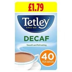 Tetley Tea Bags Decaf 125g