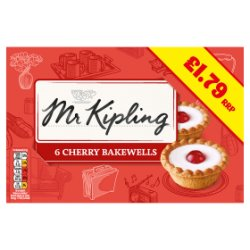 Mr Kipling Cherry Bakewell GBP1.79