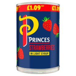 Princes Strawberries in Light Syrup 410g
