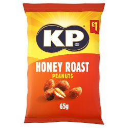 KP Honey Roast Peanuts 65g