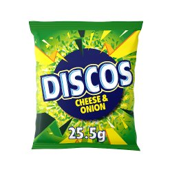 Discos Cheese & Onion Flavour 25.5g