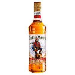 Captain Morgan Spiced Gold Rum PM £14.49