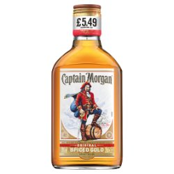 Captain Morgan Original Spiced Gold 20cl PMP £5.49
