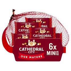 Cathedral City Mini Mature Cheeses 6 x 20g