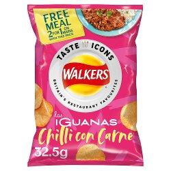 Walkers Las Iguanas Chilli Con Carne Crisps 32.5g
