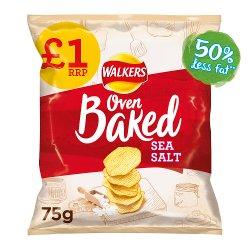 Walkers Oven Baked Sea Salt Snacks £1 RRP PMP 75g