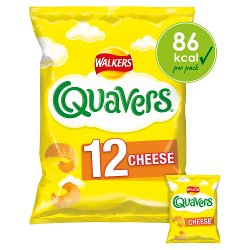 Walkers Quavers Cheese Snacks 12x16g