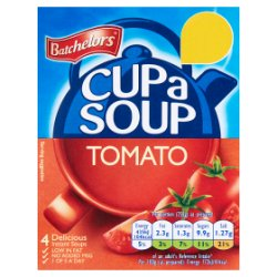 Batchelors Cup a Soup Tomato 4 Sachets 93g