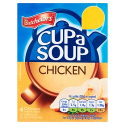 Batchelors Cup a Soup Chicken 4 Pack 81g