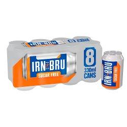 Irn Bru S/Free 8pk GBP2.50