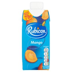 Rubicon Still Mango Juice Drink 330ml Carton