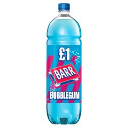 Barr Bubblegum 2L Bottle, PMP £1