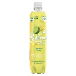 Rubicon Spring Lemon Lime Flavoured Sparkling Water 500ml, PMP £1.19 or 2 for £2