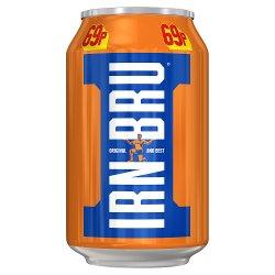 Irn-Bru 330ml Can, PMP 69p
