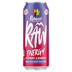 Rubicon Raw Energy Raspberry & Blueberry 500ml, PMP, £1.29