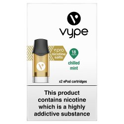 Vype vPro x2 ePod Cartridges Chilled Mint 18mg/ml