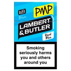 Lambert & Butler Kingsize Blue Real Blue GBP7.35