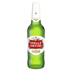 Stella Artois Premium Lager Beer Bottle 660ml