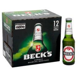 Beck's 12 x 275ml
