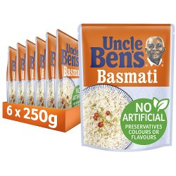 Uncle Bens Basmati Microwave Rice 250g