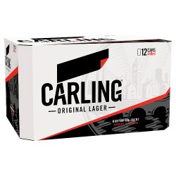Carling Lager 12 x 440ml