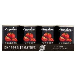 Napolina Chopped Tomatoes 12 x 400g