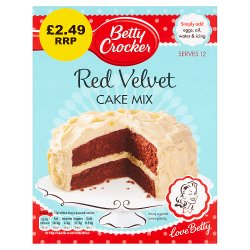 Betty Crocker Red Velvet Chocolate Cake Mix 425g