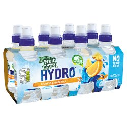 Robinsons Fruit Shoot Hydro Spring Water Drink Orange & Pineapple No Added Sugar 8 x 200ml