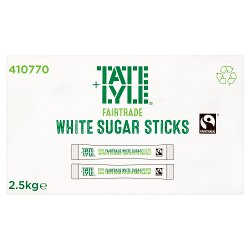 Tate & Lyle Fairtrade Cane Sugar Granulated Sticks 2.5kg