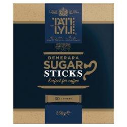 Tate & Lyle 50 Demerara Sugar Sticks 250g