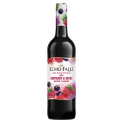 Echo Falls Fruits Raspberry & Cassis 750ml