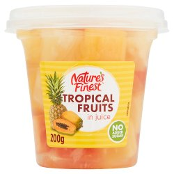 Nature's Finest Tropical Fruits in Juice 200g