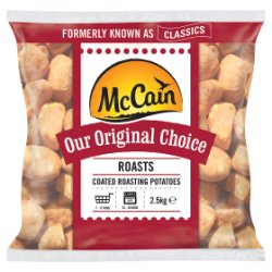 McCain Original Choice Roasts 2.5kg